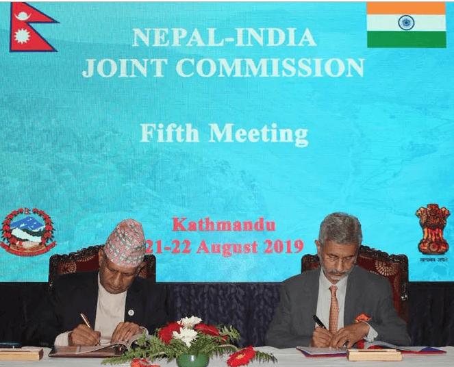 नेपाः–भारत मंका आयोगया न्यागुगु बैठक सम्पन्न