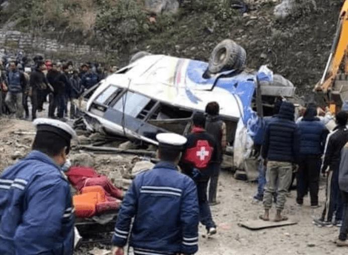 सिन्धुपाल्चोकय् बस दुर्घटना, झिँन्प्यम्हः सित