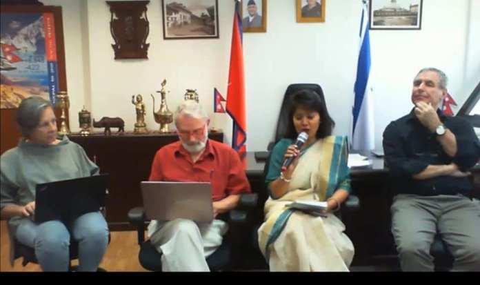 राजदूतया कुतलय् नेपाः व ईजरायलया चिकित्सकदथुई भर्चुअल वेभिनार